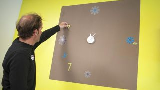 Reloj adhesivo para pared