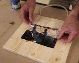 Cómo hacer soportes de madera para fotos