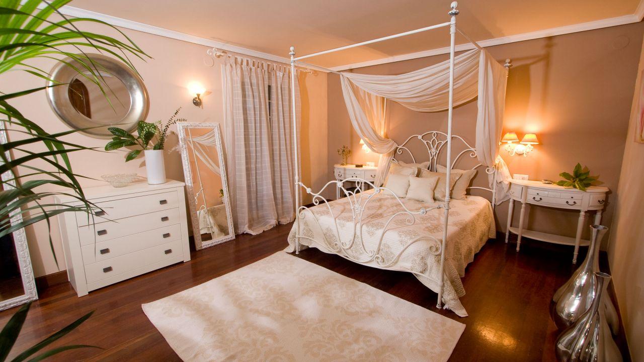 Ideas para decorar el dormitorio de matrimonio - Romántica