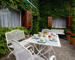 terraza romántica