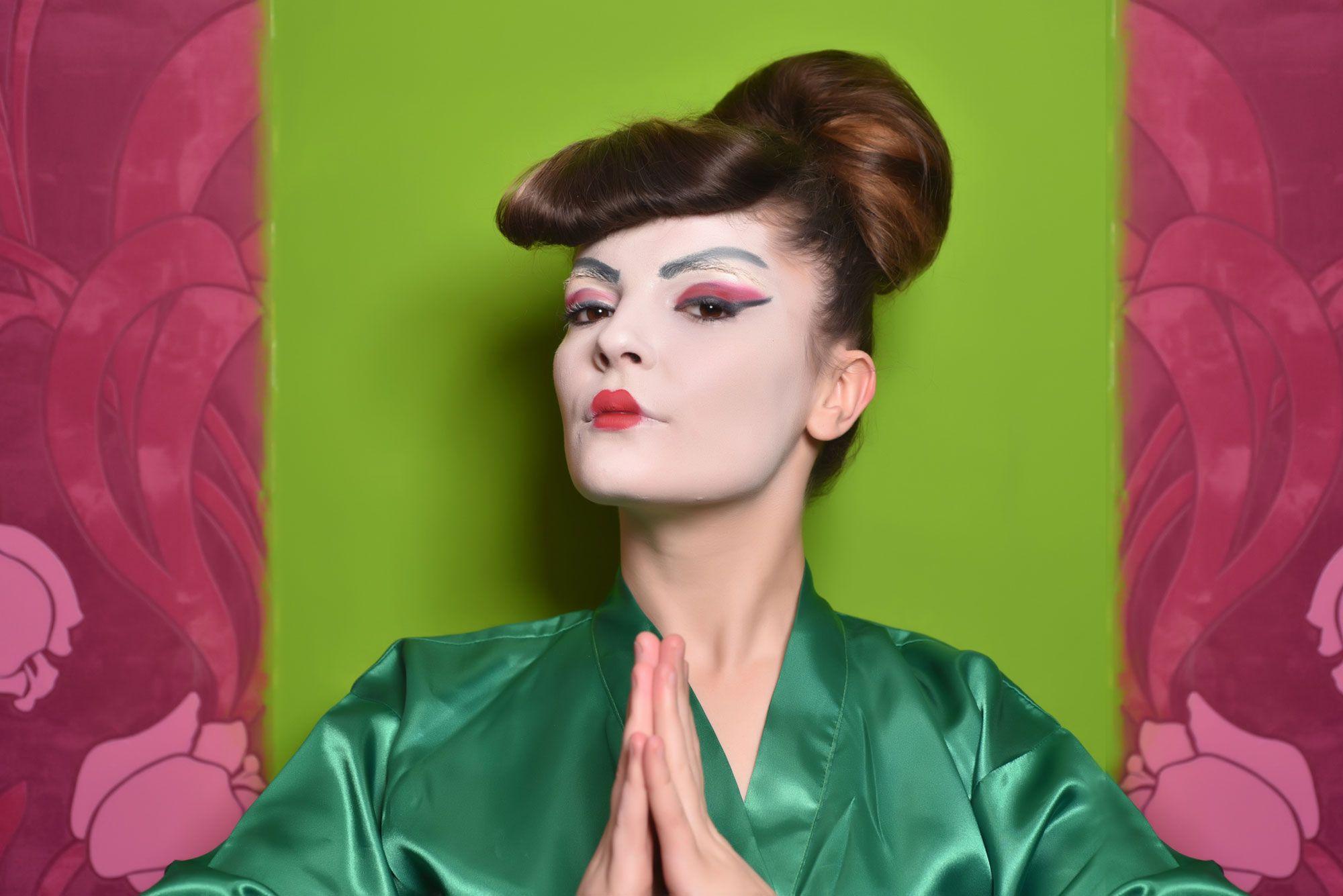 look geisha - ojos