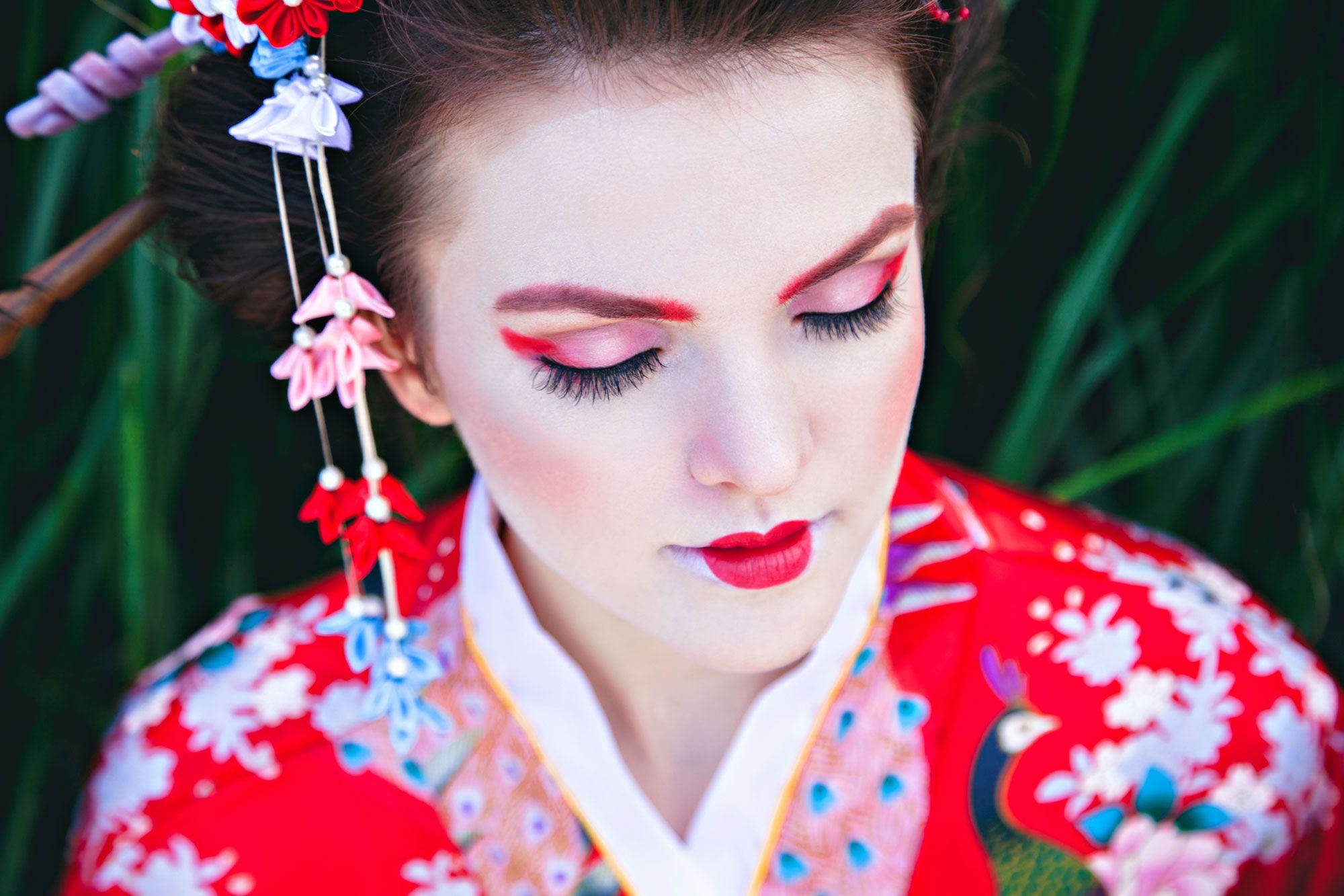 10 claves para conseguir un look geisha hogarmania