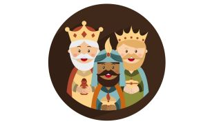 posavasos Reyes magos - reyes magos