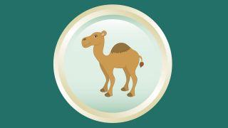 posavasos Reyes magos - camello