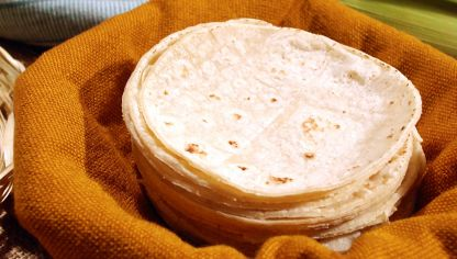 Tortillas de maíz mexicanas