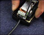 Cambiar el cable a una lámpara