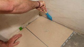 Revestir suelo con gres sin obra