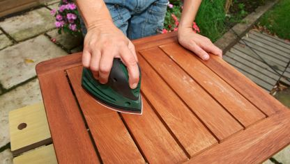 Proteger mesa de cultivo bricoman a for Como pintar una mesa de madera