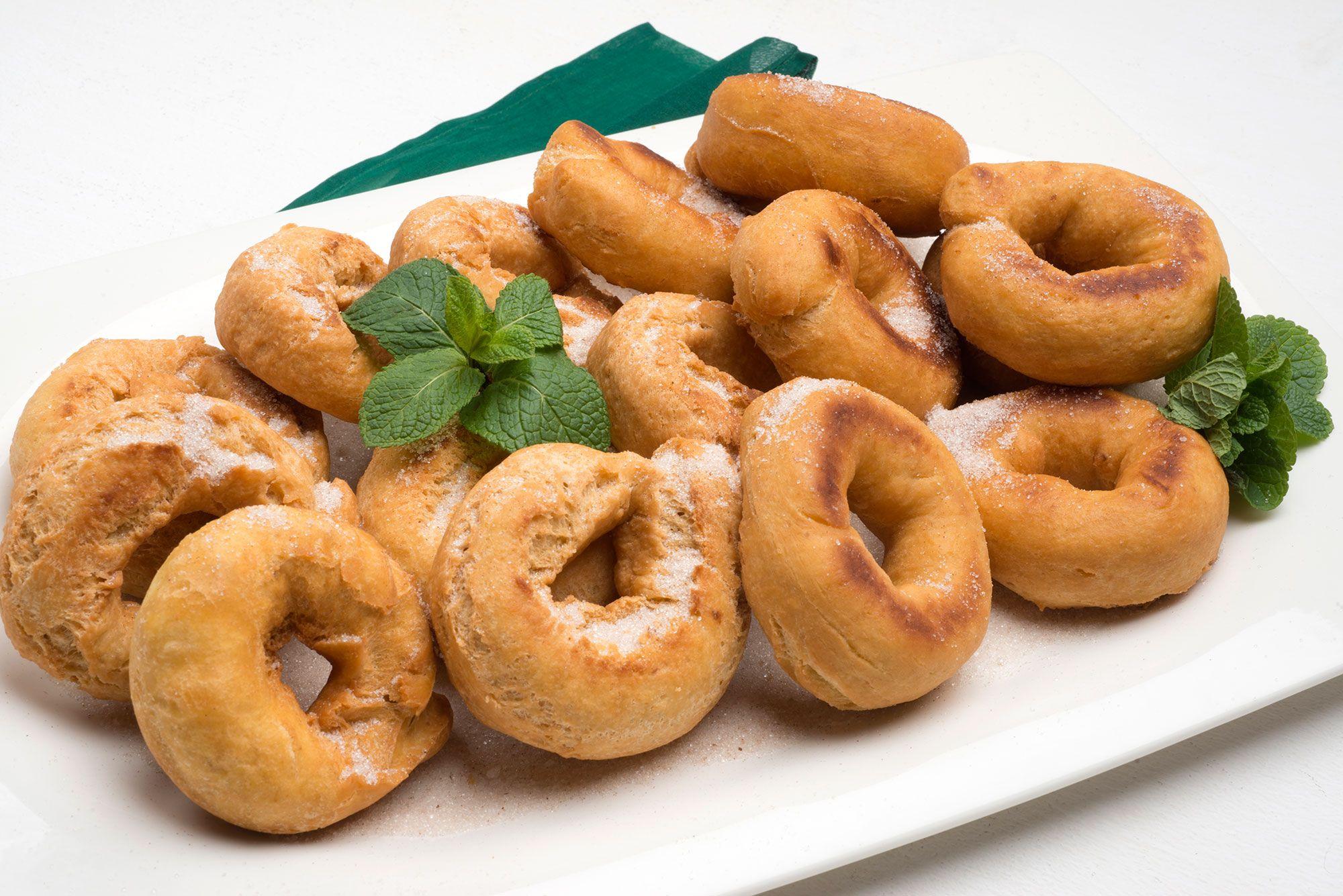 Dulces típicos de San Blas - Rosquillas de Eva Arguiñano