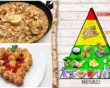 Arroz con alcachofas y gambas, plato nutritivo y de fácil digestión