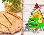 Hamburguesa de salmón, para personas mayores o con problemas de corazón