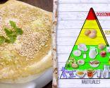 Coles de Bruselas con bechamel, plato nutritivo para regular el intestino
