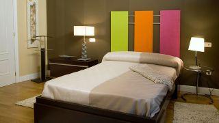 Hacer un cabecero decorativo de colores