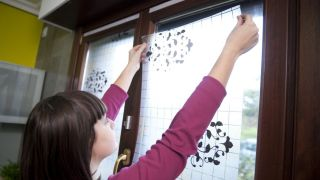 Láminas decorativas para ventana