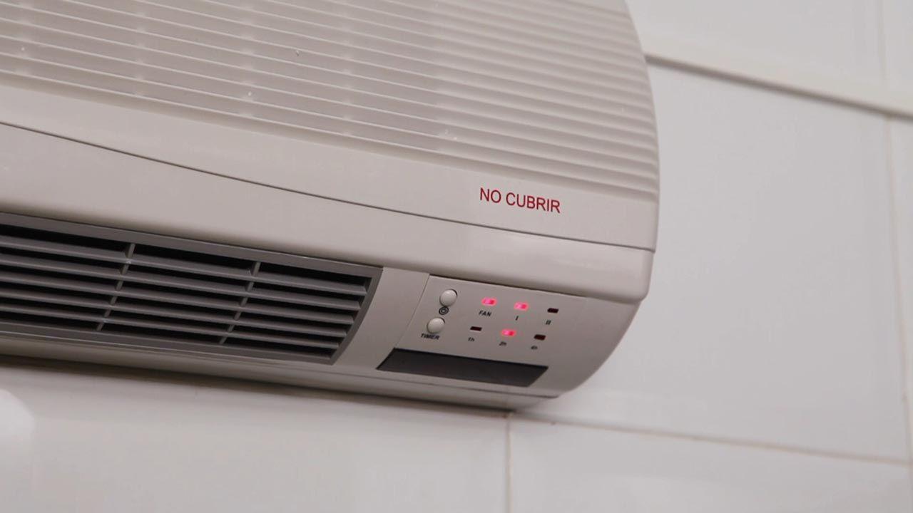 Cómo instalar un calefactor eléctrico de pared - Hogarmania