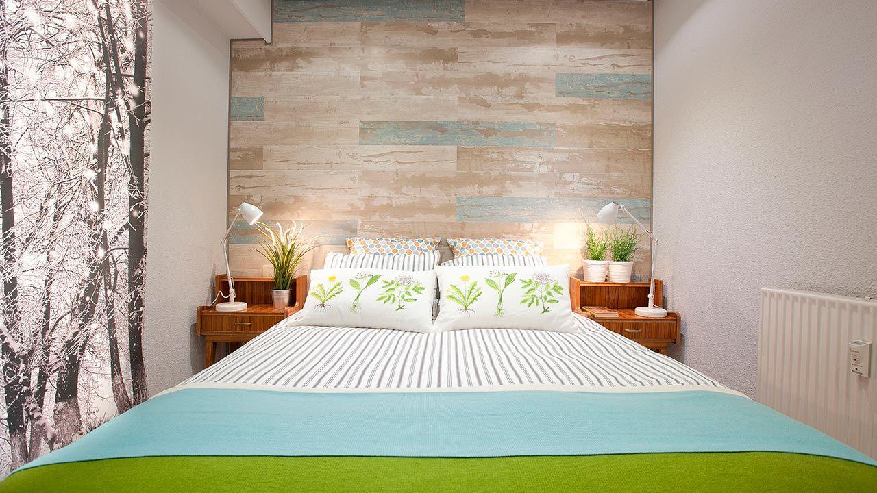 Decoración otoñal para el dormitorio