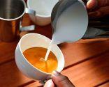 dibujar corazón en café - Paso 1