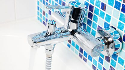 Ideas para decorar el baño en color azul