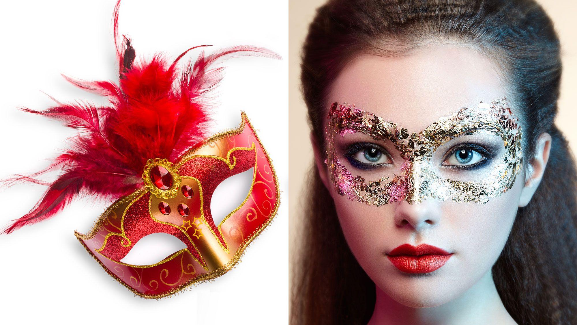 look carnaval - máscara