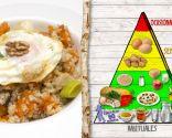 Quinoa con verduras y huevo, plato saludable y muy nutritivo