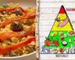 Arroz con conejo y caracoles, plato de fácil digestión