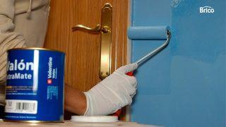 Arreglo de desperfecto en pared