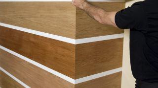 Revestimiento con madera de okume
