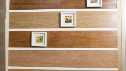 Revestimiento de pared sin obra bricoman a - Soluciones para paredes con humedad ...