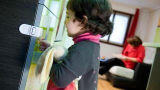 Sistema de bloqueo y seguridad para niños