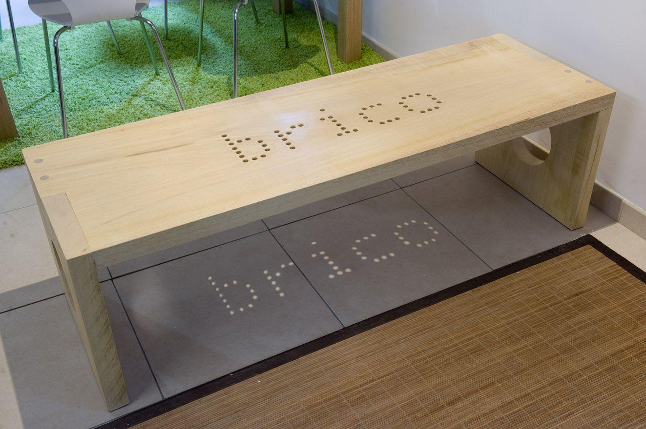 Ideas para hacer un banco hogarmania Banco madera exterior
