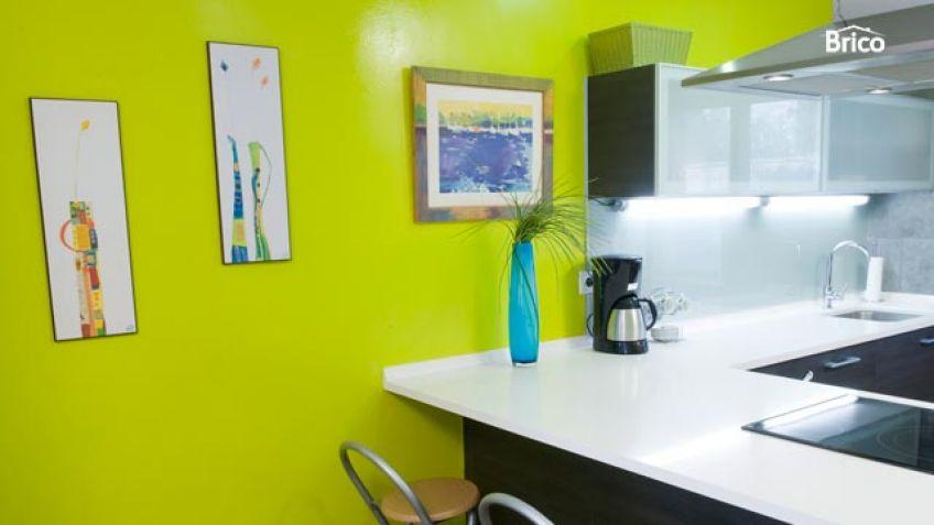 Arreglo pared de cocina por filtraciones de humedad - Bricomanía