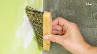 Arreglo pared de cocina por filtraciones de humedad