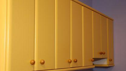 lacado de puertas de armario de cocina