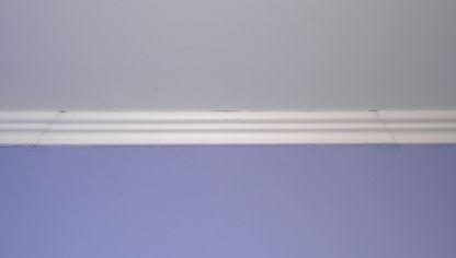 Colocar techo de poliestireno expandido bricoman a - Molduras techo poliestireno ...