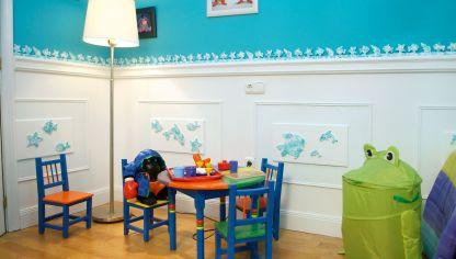 Habitaci n infantil c lida y tranquila decogarden - Decoracion paredes habitacion infantil ...