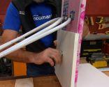 Armario para tabla de planchar oculta