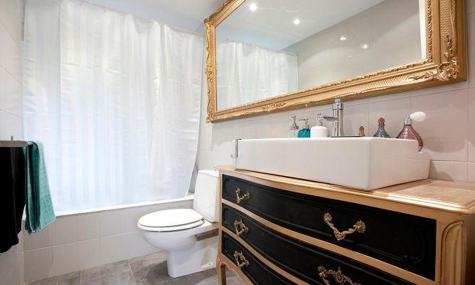 Decorar baño de estilo barroco - Decogarden