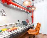Decorar un estudio de estilo industrial