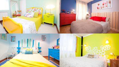 Colores relajantes para el dormitorio hogarmania - Decoracion en pintura para dormitorios ...