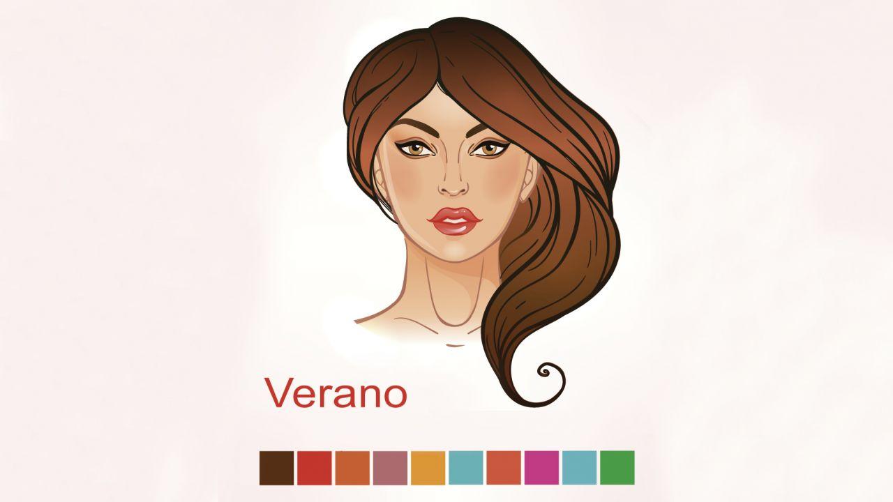 Colores según piel, cabello y ojos - Mujer verano