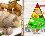 Popietas de pavo con patatas, plato recomendado para deportistas y niños