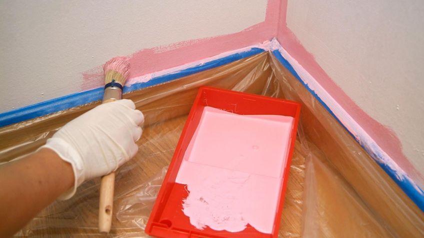 pintar correctamente ngulos y zonas de unin bricomana - Bricomania Pintura