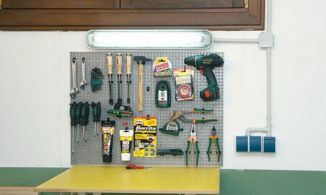 Instalaci n el ctrica en garaje bricoman a - Tuberia para instalacion electrica ...