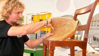 Restaurar una silla clásica