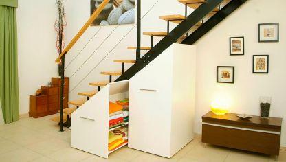 Hacer un techo pr ctico bricoman a for Bajo escaleras de madera