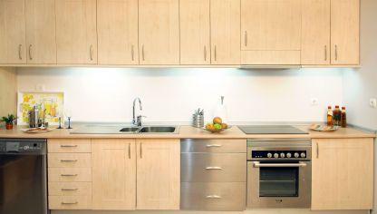 Iluminar encimera de cocina bricoman a for Remates de muebles de cocina