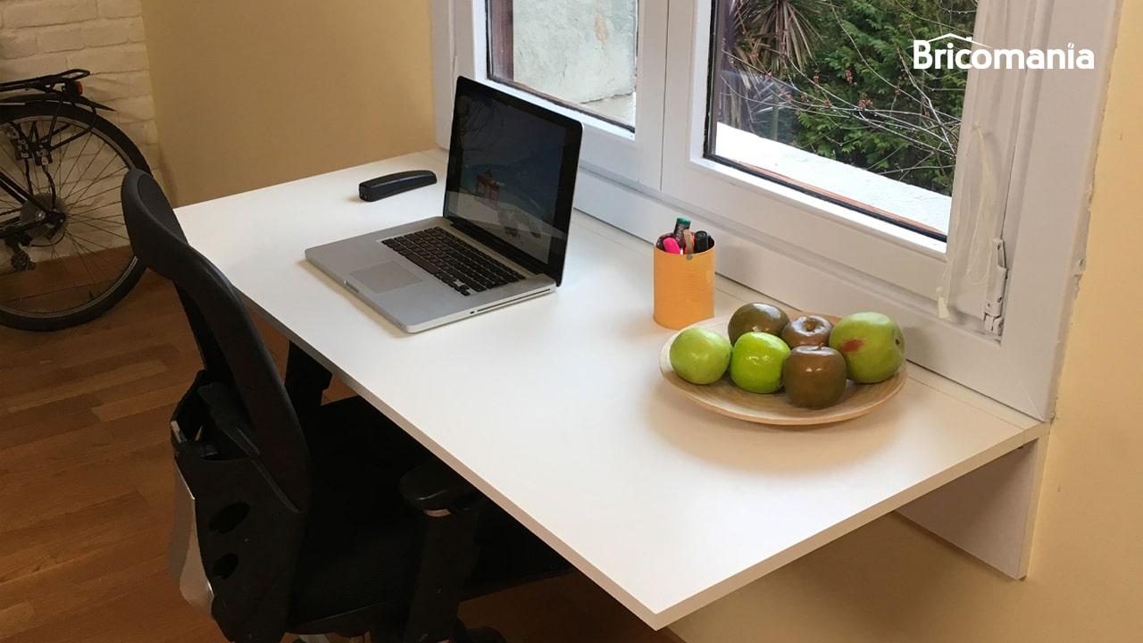 escritorio DIY plegable