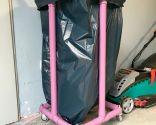 Carro de PVC para basura