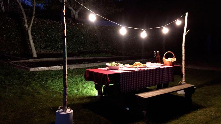 soporte para guirnalda de luces bricomana - Guirnaldas De Luces