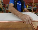 Cómo hacer una estantería de cobre y cerámica